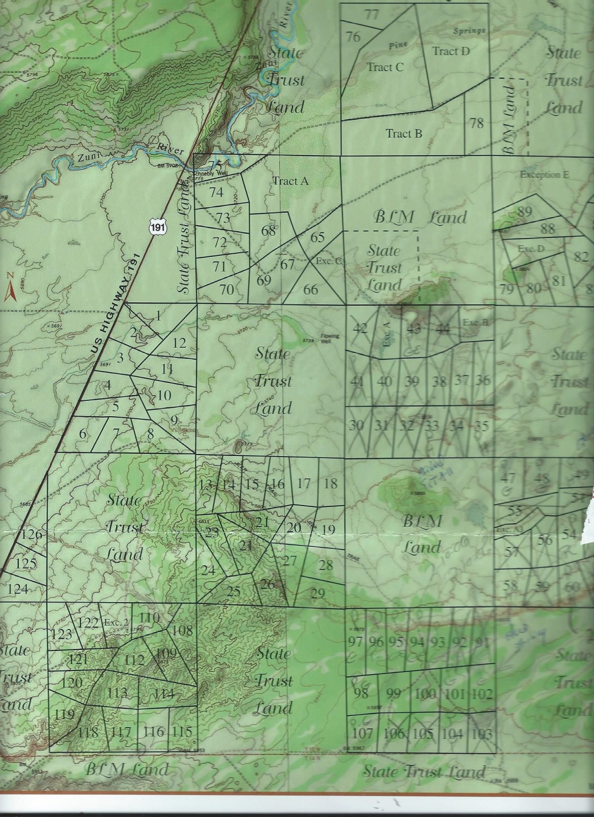 Apache County Arizona Map.37 Acre Wilderness Ranch 179 Month Ranch For Sale Saint Johns