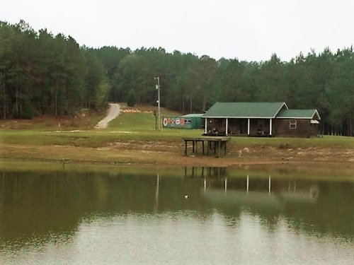 2 Bedroom Home On 29 Ac W/ Pond : Banks : Pike County : Alabama