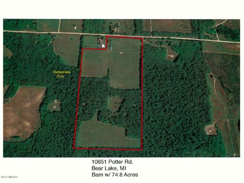 Beautiful 74.88 Acres : Bear Lake : Manistee County : Michigan