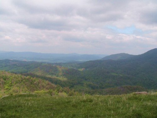High Elevation, Long Range Views In : Independence : Grayson County : Virginia