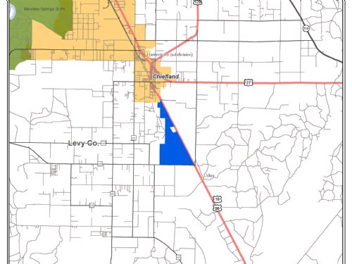 Vacant Raw Land 1,450+/- Acres : Chiefland : Levy County : Florida