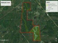 Hobuck Creek : Camden : Madison County : Mississippi