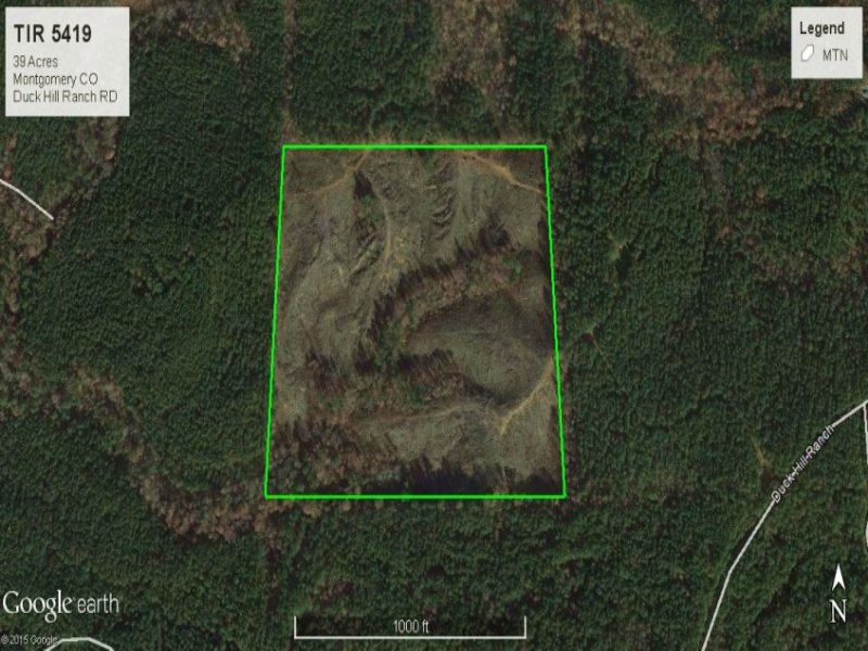 Duck Hill Ms >> Timberland Investment Montgomery Co Ranch For Sale Duck