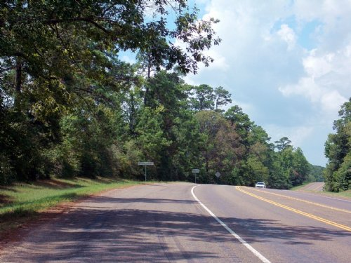 Richardson Road : Livingston : Polk County : Texas