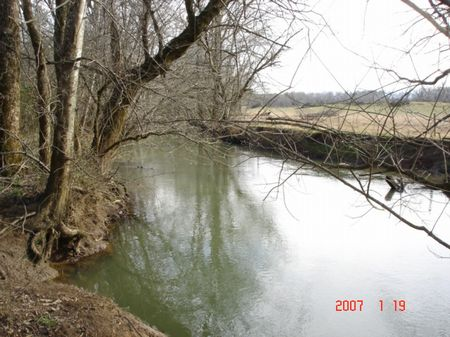 14 Acres On Chestuee Creek : Etowah : McMinn County : Tennessee