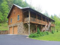 Log Home On 52ac Adj. Nat'l Forest : Covington : Alleghany County : Virginia