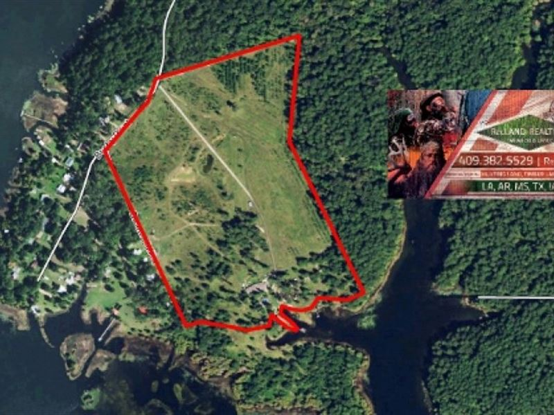 49.49 Ac - Home & Acreage On To : Hemphill : Sabine County : Texas
