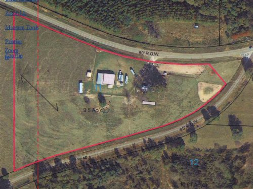 Mh & 10 Acres : Troy : Pike County : Alabama
