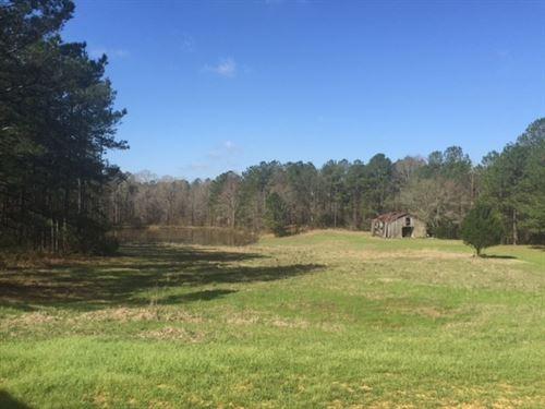 224 Acres Arch Byrd Road Franklin : Meadville : Franklin County : Mississippi