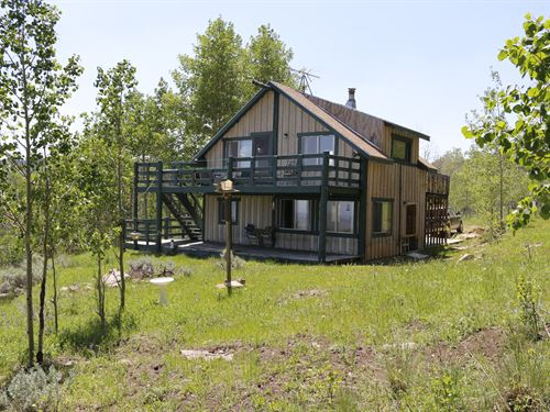 Camp Creek Cabin : Gunnison : Saguache County : Colorado