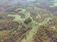Cattle Ranch With Hilltop Home : Clifty : Madison County : Arkansas