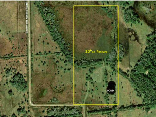 20ac Pasture With Pond : Port Saint Lucie : Saint Lucie County : Florida
