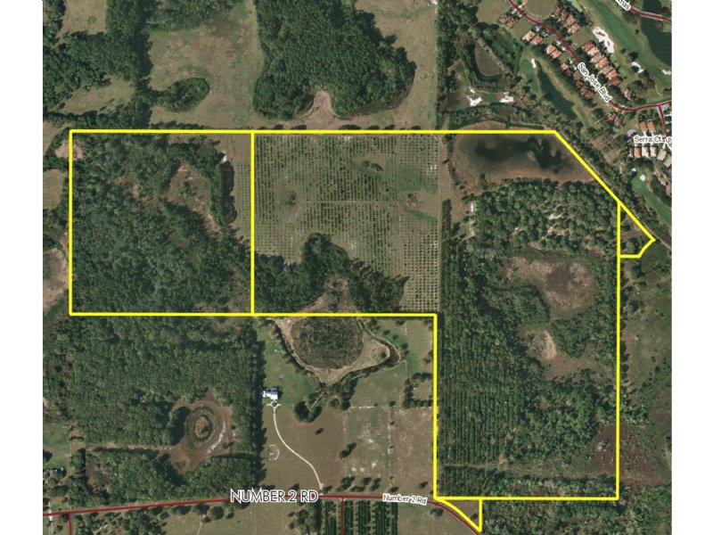 160Ac Residential Development Land : Howey-in-the-Hills : Lake County : Florida