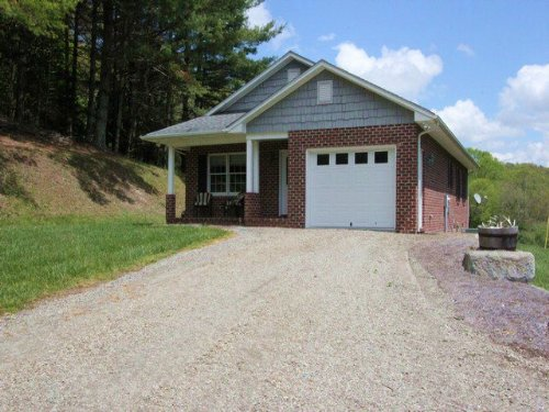 Home And Large Acreage : Troutdale : Grayson County : Virginia