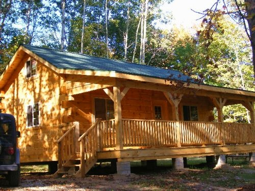 Handyman Cabin Shell On 35 Acres : Cuchara : Las Animas County : Colorado