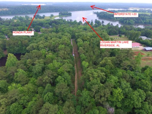 Private Estate Home Site - 18.9 Ac : Riverside : Saint Clair County : Alabama