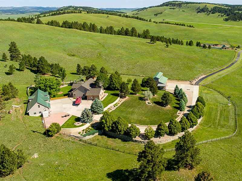 Hunsaker Ranch Acreage : Fairburn : Custer County : South Dakota