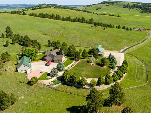 Hunsaker Ranch Acreage : Fairburn : Custer County : South Dakota
