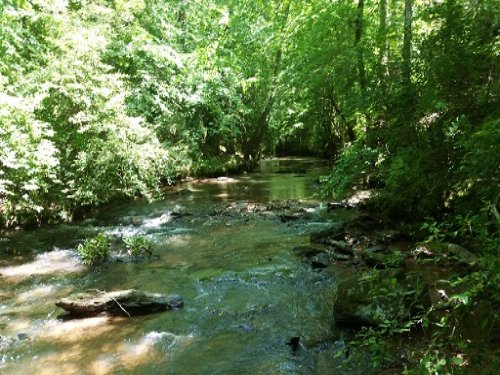 Land On Horsetrough Creek : Lineville : Clay County : Alabama