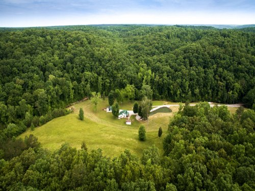 117 Acre Private Retreat : Westpoint : Lawrence County : Tennessee