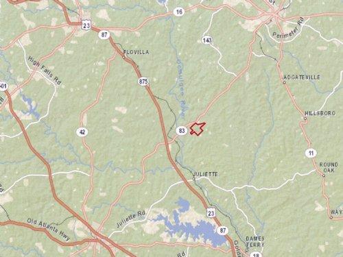 Juliette Milling Tract : Monticello : Jasper County : Georgia