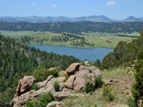 Above Water : Florissant : Teller County : Colorado