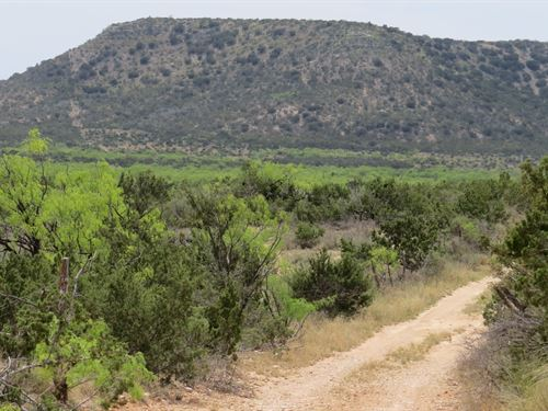 Secluded Hunting, Rural Water Meter : Robert Lee : Coke County : Texas
