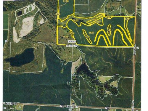 114 Acres M/l - Income And Hunting : Logan : Harrison County : Iowa