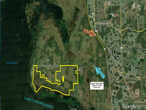 1165.9 Acres High Density Mixed-Use : Saint Cloud : Osceola County : Florida