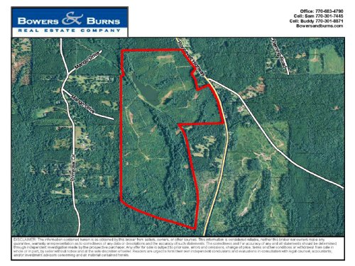 294.18 Ac On Roosevelt Hwy : Greenville : Meriwether County : Georgia