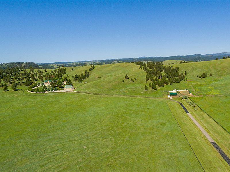 Hunsaker Ranch : Fairburn : Custer County : South Dakota
