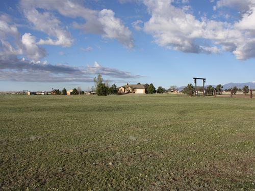 Horse Lovers Dream Property In Falc : Falcon : El Paso County : Colorado