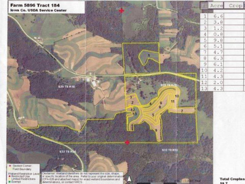Avoca Iowa Map.Expired Beautiful Diversified 260 Ac Farm Ranch For Sale Avoca