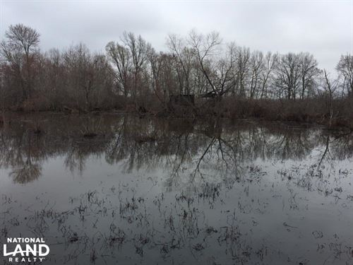 80 Acre Duck Hunting Farm Near : McCrory : Woodruff County : Arkansas