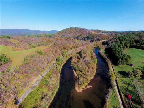 Large Acreage Farm On New River : Mouth Of Wilson : Grayson County : Virginia