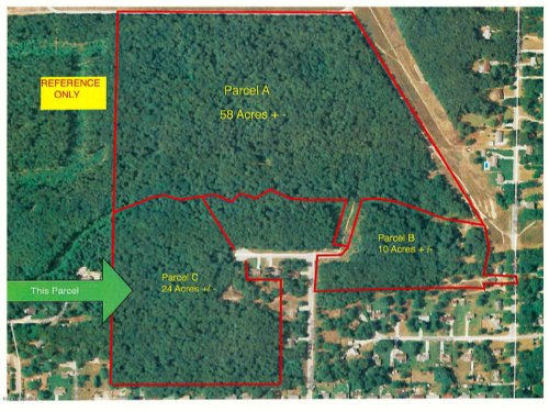 Pristine Fully Wooded 24 Acres : Muskegon : Michigan