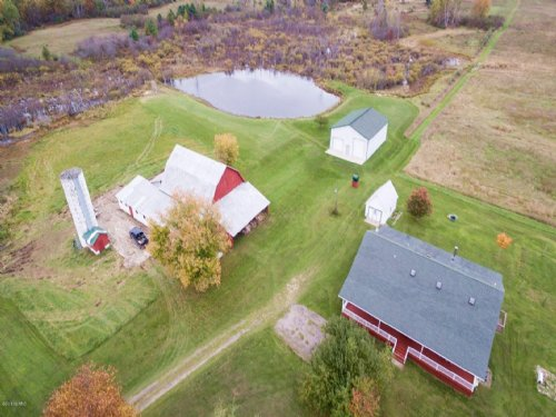 80 Acre Farm And Sportsman's Dream : Walkerville : Oceana County : Michigan