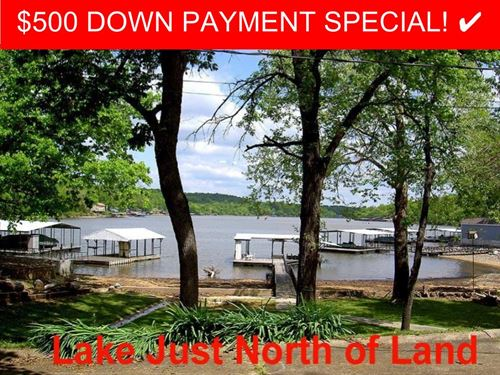 13 Acres Near The Lake Of The Ozark : Lake Ozark : Camden County : Missouri