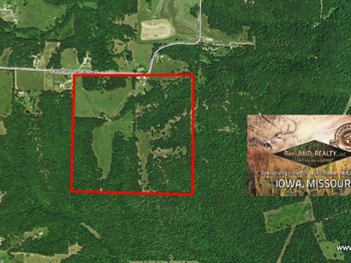 165 Ac Pasture & Woodlands Wit : Versailles : Morgan County : Missouri