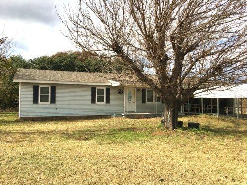 Home On Acreage With Creek : De Leon : Erath County : Texas
