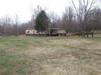 141.99 Acres With Mobile Home : Westport : Carroll County : Tennessee