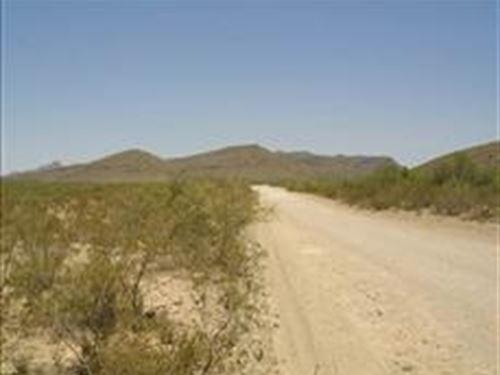 Texas, Hudspeth County, 20 Acres : Sierra Blanca : Hudspeth County : Texas
