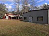 42+/- Ac Weekend Getaway : Picayune : Pearl River County : Mississippi