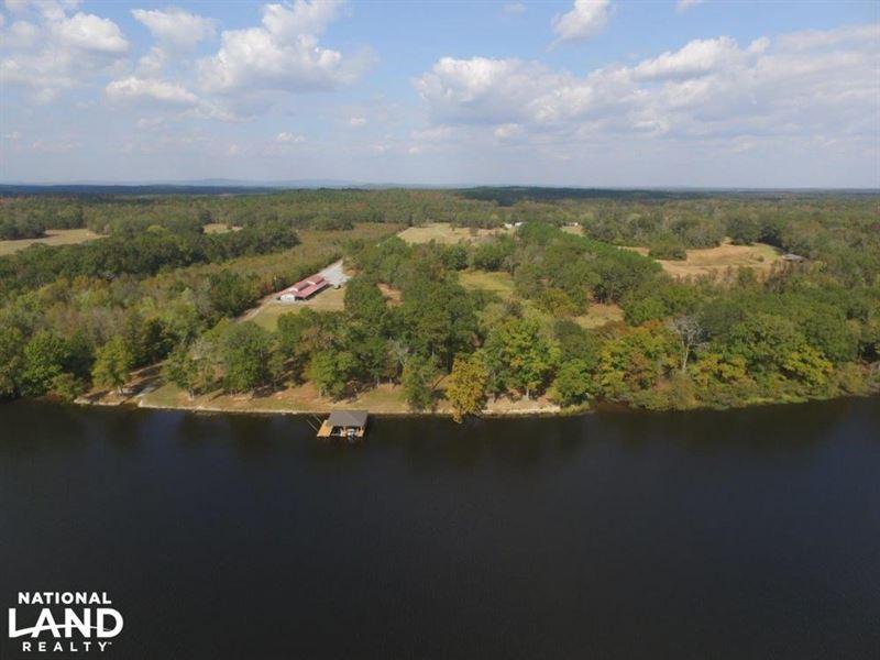 Battery Row Farm On Lay Lake : Wilsonville : Shelby County : Alabama