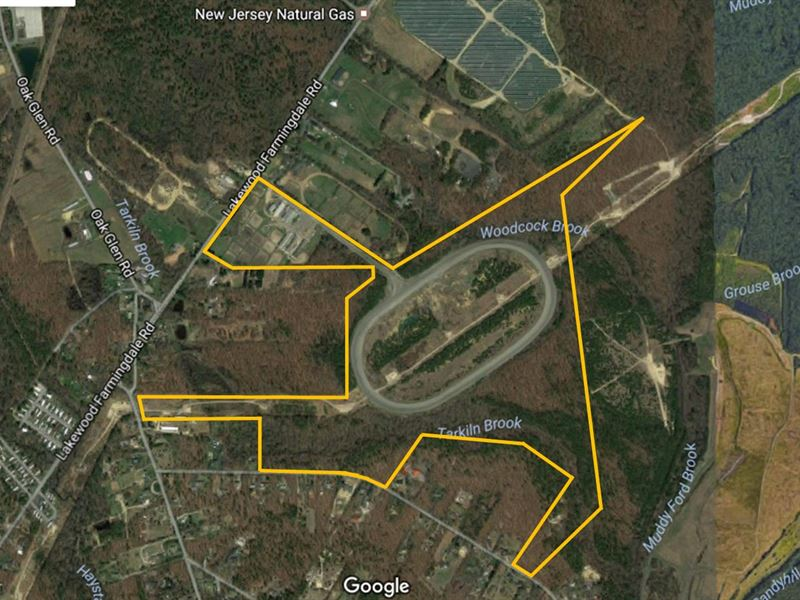 148+/- Acre Preserved Horse Farm : Howell : Monmouth County : New Jersey