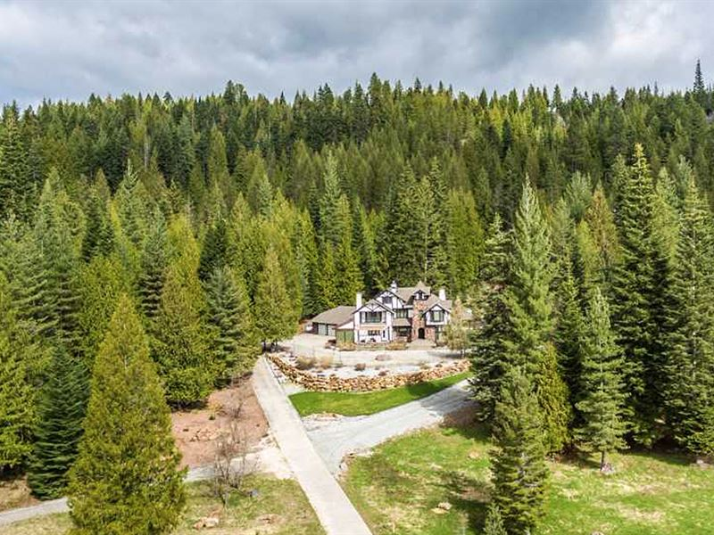 Braden Elk Ranch : Priest River : Idaho County : Idaho