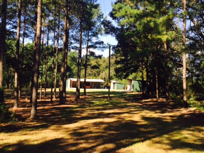 66.5 Acres And Camp Wall Street Ro : Liberty : Amite County : Mississippi