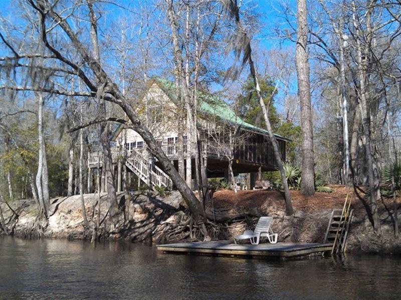 Ogeechee River Cabin : Wadley : Jefferson County : Georgia