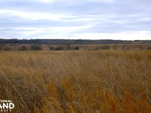 Mound City Crp, Timber And Hunting : Mound City : Linn County : Kansas
