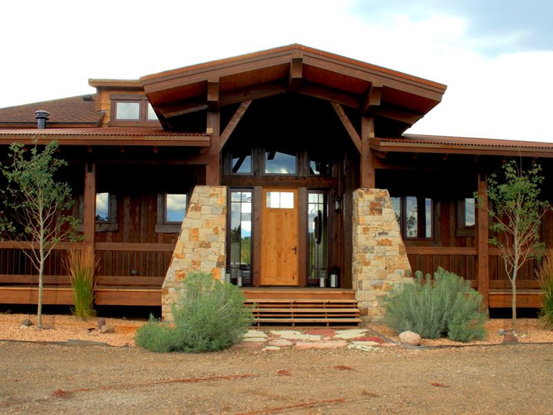 Saddle Homestead At Maytag Ranch : Cotopaxi : Fremont County : Colorado